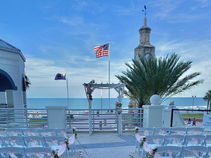 Tmx Clocktower Terrace 51 151370 162393467951554 Daytona Beach, FL wedding venue