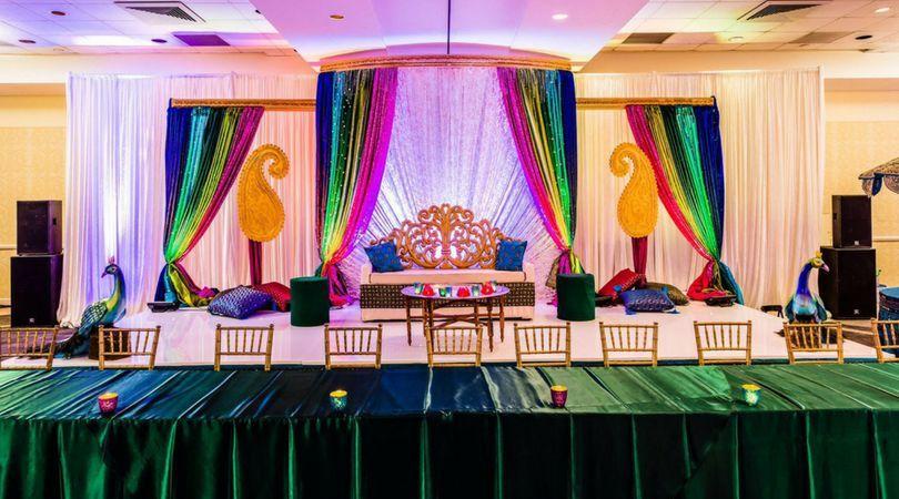 Wedding Sangeet Coordination in Kansas City by iDev Event Company.