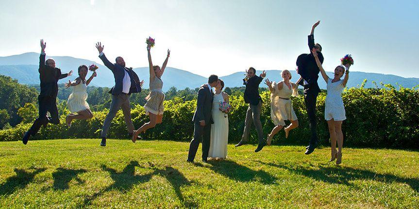 bridalpartyjumping