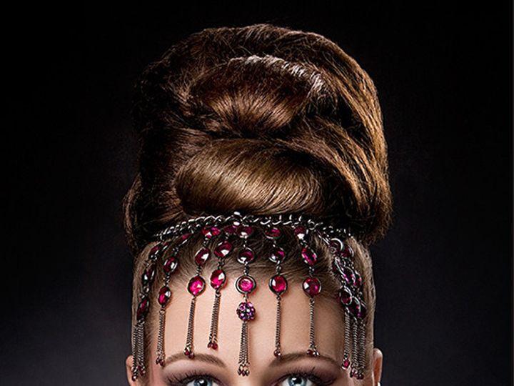 Tmx 1384529973013 Whitley Jewel Headdress 8x12 Web Pot Greenwood, IN wedding beauty