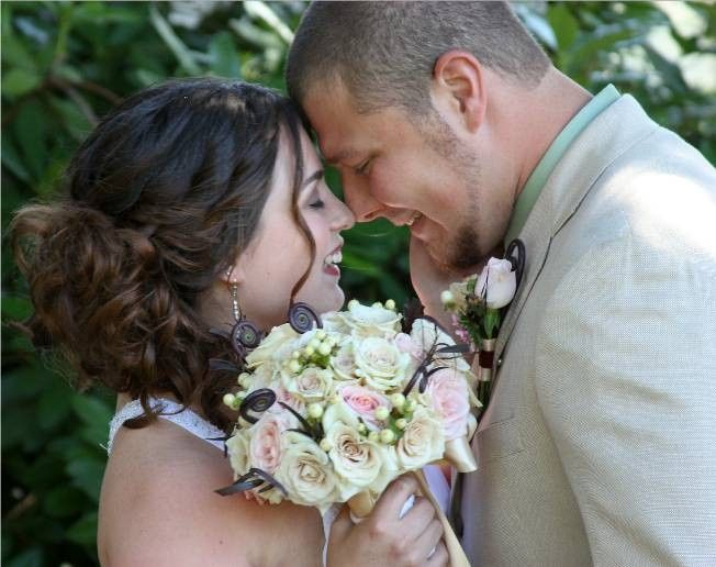 Tmx 1457026666801 Brittanywedding Portland, OR wedding florist