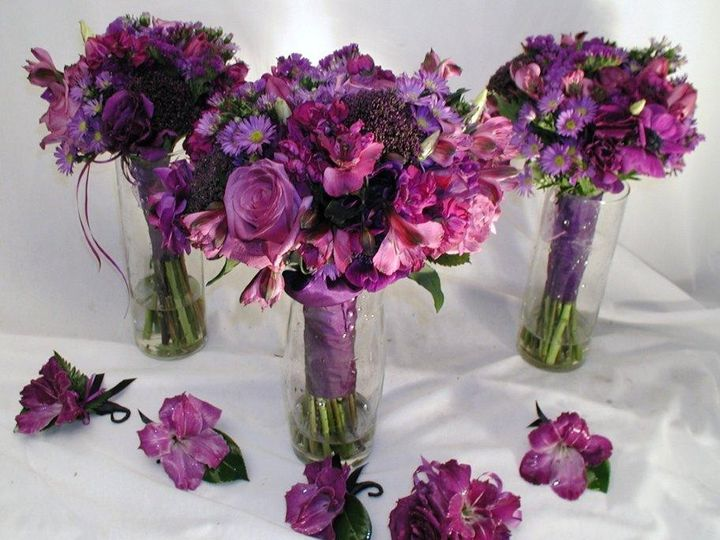 Tmx 1457026693738 Smallpurplewedding Portland, OR wedding florist