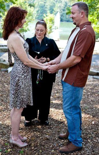 Beth & Chris' ceremony
