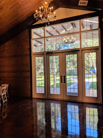 Inside View of the Door