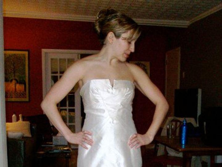 Tmx 1289921905329 Nicolemillersatinwtrain Brooklyn wedding dress