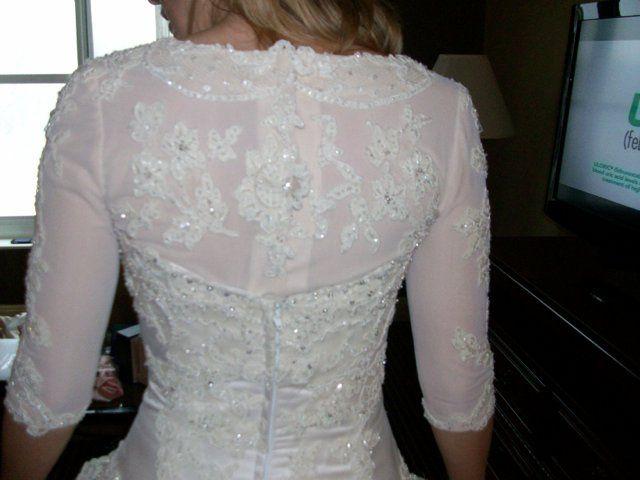Tmx 1353008000720 Israelibridebuildupback Brooklyn wedding dress