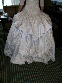 Tmx 1353008007798 Israelibridefrenchbustleclose Brooklyn wedding dress