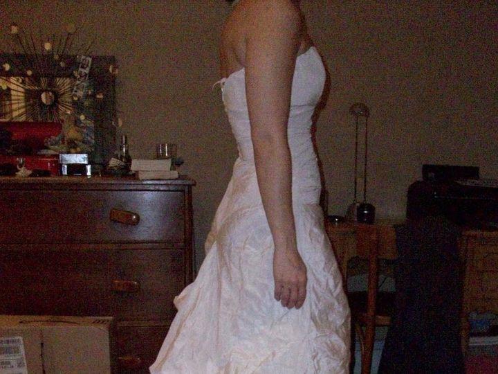 Tmx 1353008824307 Knitterbridesideafterbustled Brooklyn wedding dress