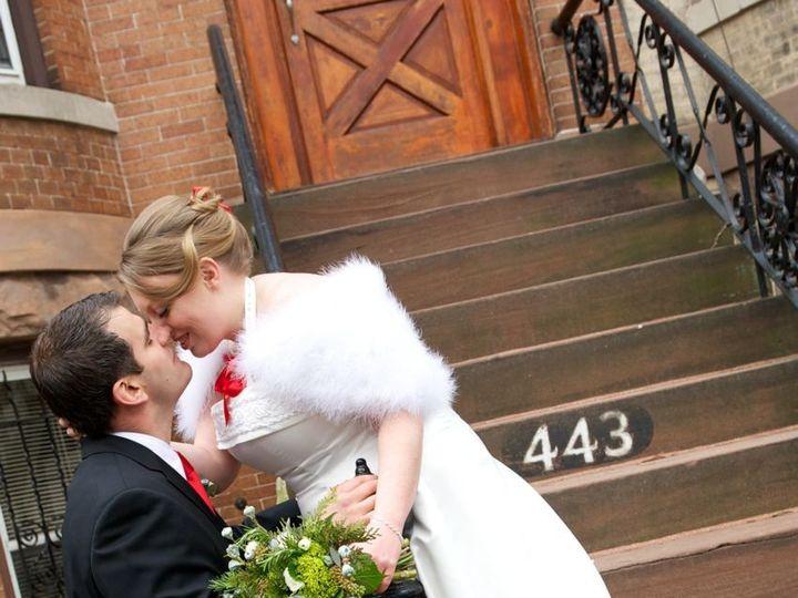 Tmx 1425504197751 Marabou Cape Newell 2 Brooklyn wedding dress
