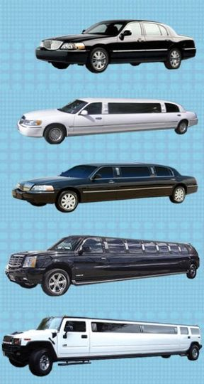 We carry Lincoln Town Cars, 10 passenger Lincoln Limo, 15 passenger Excursion and 18-20 passenger...