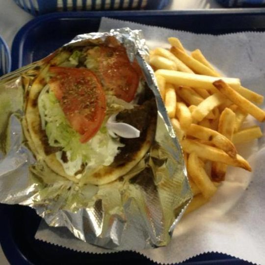 Gyro & Fries