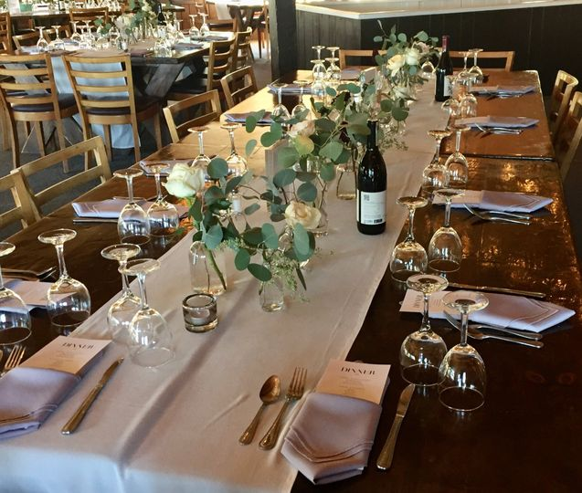 Tables are set