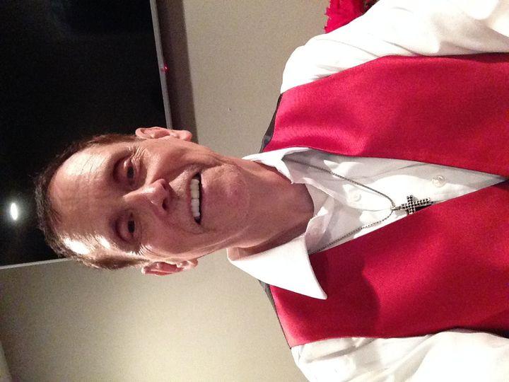 Michael J Dickenson, owner DJ, and Photobooth attendant.