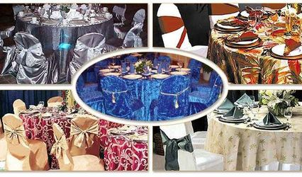 Connie Duglin Specialty Linens and Chair Cover Rental 1