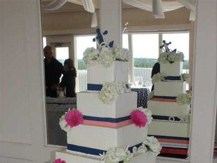 Tmx 1525294248 Accfe0d4e4a7a2f3 1525294247 8535eb67d7480456 1525294267055 11 Four Tiered Squar Rochester wedding cake