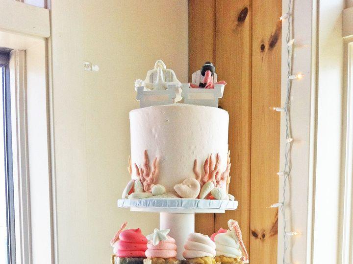 Tmx 1525294293 19b4df4b5337bf0b 1525294292 F4e701a63883b656 1525294310801 16 Coral Mattapoiset Rochester wedding cake