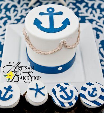 Tmx 1525294298 7f11819c03179c7d 1525294297 9ec56313409ce10a 1525294316382 17 Navy Anchor Starf Rochester wedding cake
