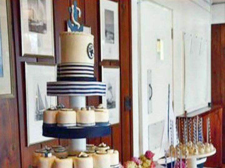 Tmx 1525294370 Bb378e63464f8242 1525294369 Ba7b196cd0a29302 1525294388472 29 16 Nautical Mini  Rochester wedding cake