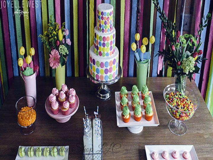 Tmx 1525296565 25f5e50819c3873e 1525296564 3d64e1eac787cdc0 1525296582117 31 26 Colorful Desse Rochester wedding cake