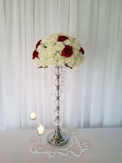 Slim flower vase