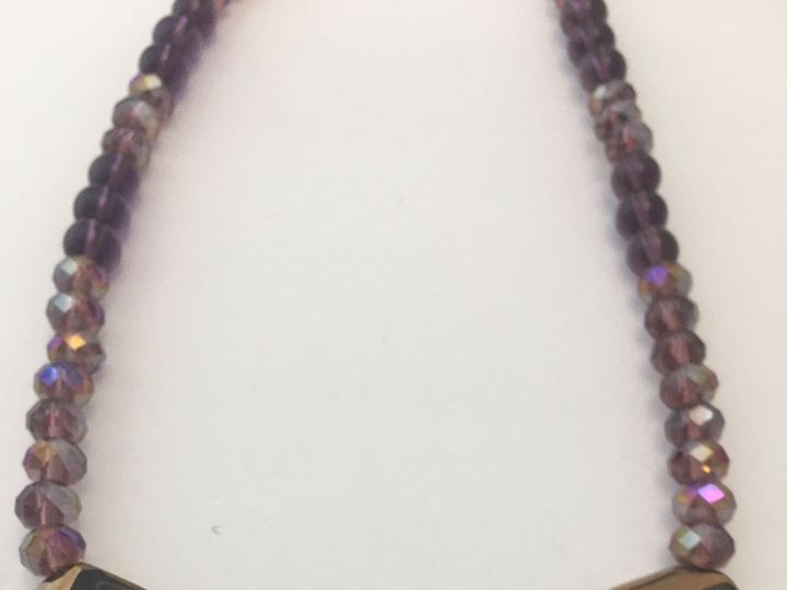 Tmx 1537464036 D42b674f20eae450 1537464034 Ec3999ffd1902c0f 1537464034146 4 Purplebeadedneck1 Winter Springs wedding jewelry
