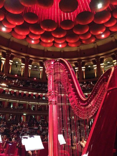 Performing in Royal Albert Hall