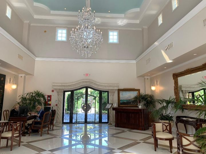 Our new lobby