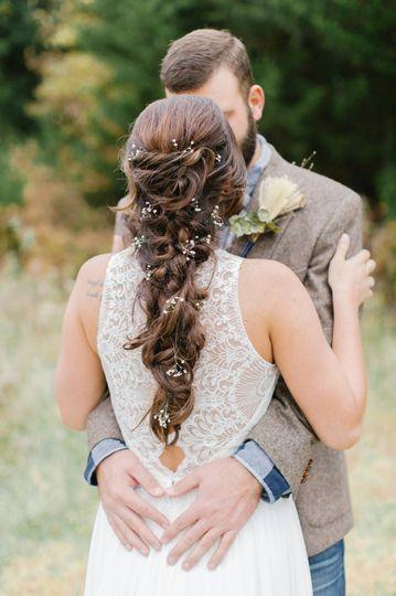 Sweet newlyweds | Whitney Kinnison Photography