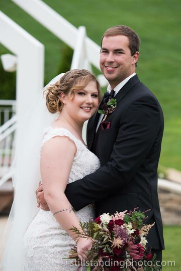 The newlyweds | Photo by Still Standing Photography