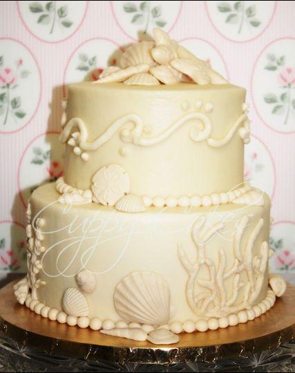 cuppy cakes wedding cake hudson fl weddingwire. Black Bedroom Furniture Sets. Home Design Ideas