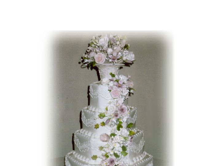 Tmx 1371484014860 4 Tier Hexagona Hebron wedding cake