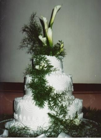 Tmx 1371484117174 Fresh Calla Lilies Hebron wedding cake