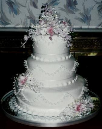 Tmx 1371484124664 Sugar Lace Work Hebron wedding cake