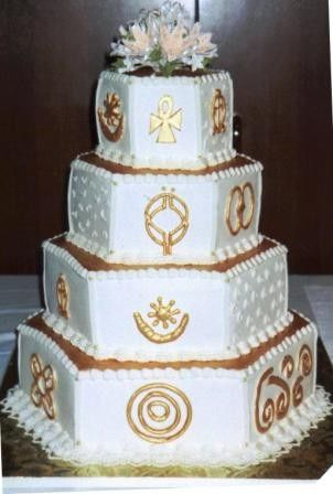 Tmx 1371484345845 African Love Symbols Hebron wedding cake