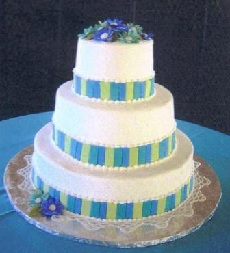 Tmx 1371484358288 Blue Daisies Hebron wedding cake