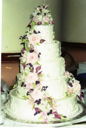 Tmx 1371484363884 Calla Lillies And Roses Hebron wedding cake