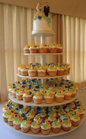 Tmx 1371484376608 Cupcake Wedding Cake Hebron wedding cake