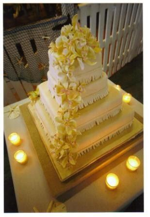 Tmx 1371484386595 Edible Orchids Hebron wedding cake