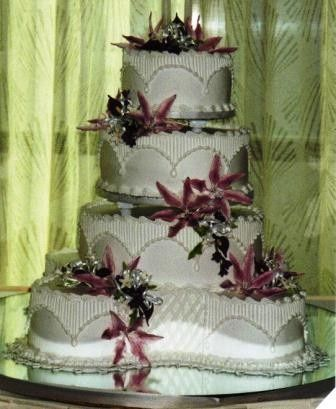 Tmx 1371484475618 Lillies And Calla Lillies Hebron wedding cake