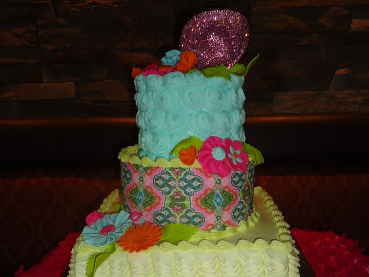 Tmx 1371484506997 Mexican Theme Hebron wedding cake