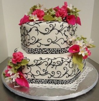 Tmx 1371484534688 Roses  Lillies Hebron wedding cake