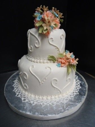 Tmx 1371484545168 Small Wedding Serves 40 Hebron wedding cake
