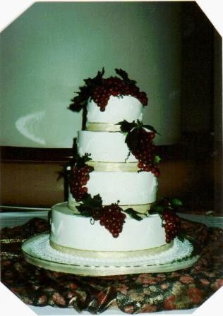Tmx 1371484557122 Sugar Grapes Hebron wedding cake