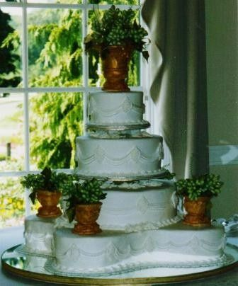Tmx 1371484593996 Sugar Vases And Grapes Hebron wedding cake