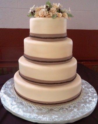 Tmx 1371484770368 Burlap Hebron wedding cake