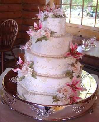 Tmx 1371486003892 Petal Shaped Cake Hebron wedding cake
