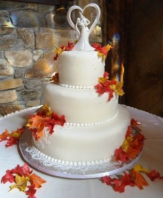 Tmx 1383059453843 Fall Wedding Hebron wedding cake