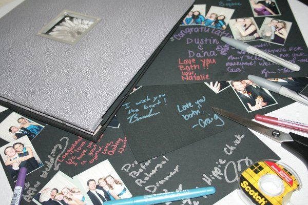 Signature memory book