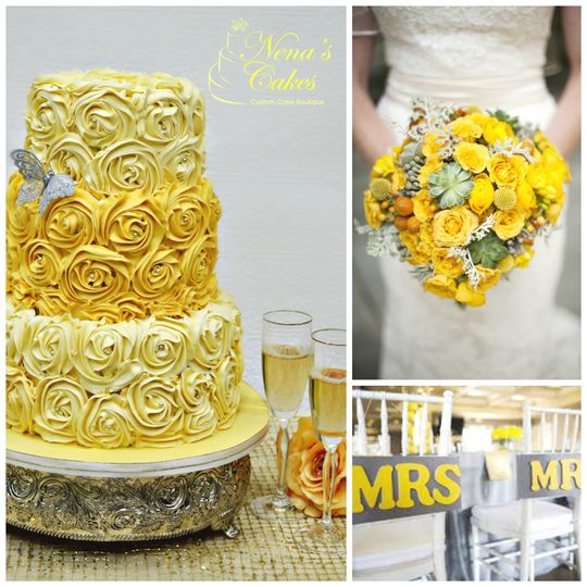 Nena\'s Cakes Boutique - Wedding Cake - Miami, FL - WeddingWire