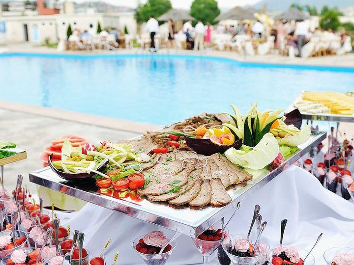 Tmx 1348266189694 Bigstockcateringbuffetfoodoutdoori14827667 San Jose wedding catering